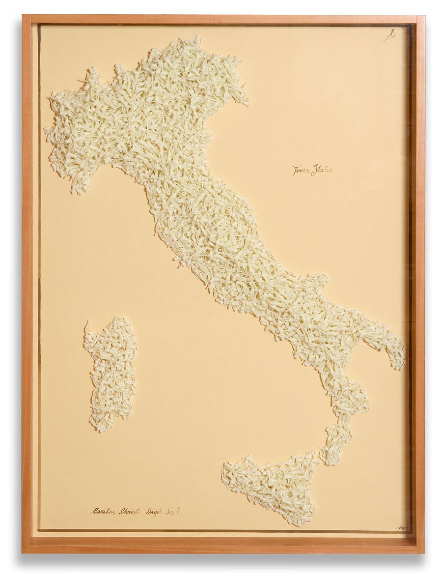 ITALIA / 96 x 132 x 10 cm