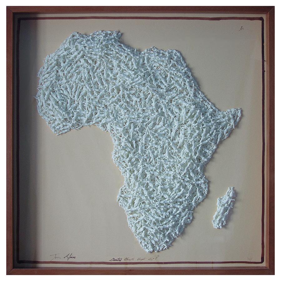 TERRA AFRICAE / 100 x 100 x 9,5 cm
